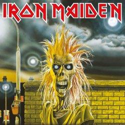 Iron Maiden Framed Canvas Print First Album 40 x 40 cm