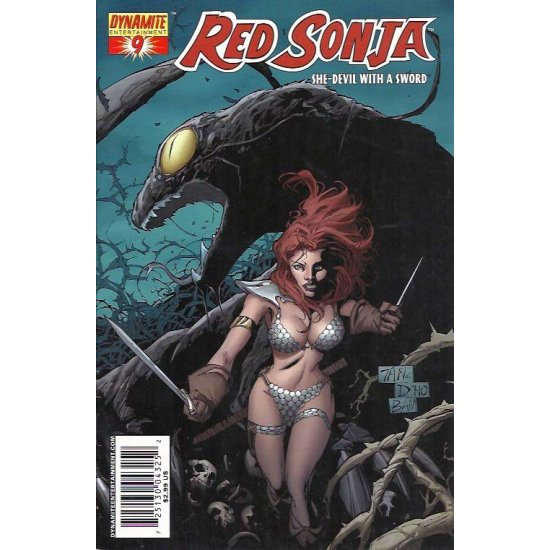 Red Sonja 9A - action figures