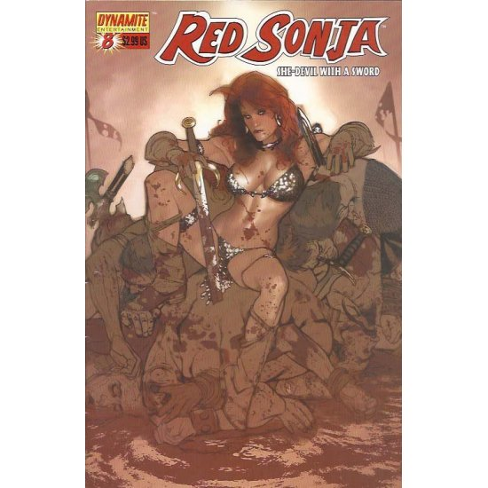 Red Sonja 8A - action figures