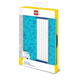 LEGO Journal with Band blue