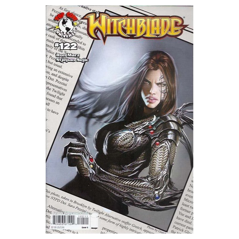 Witchblade 122 - action figures