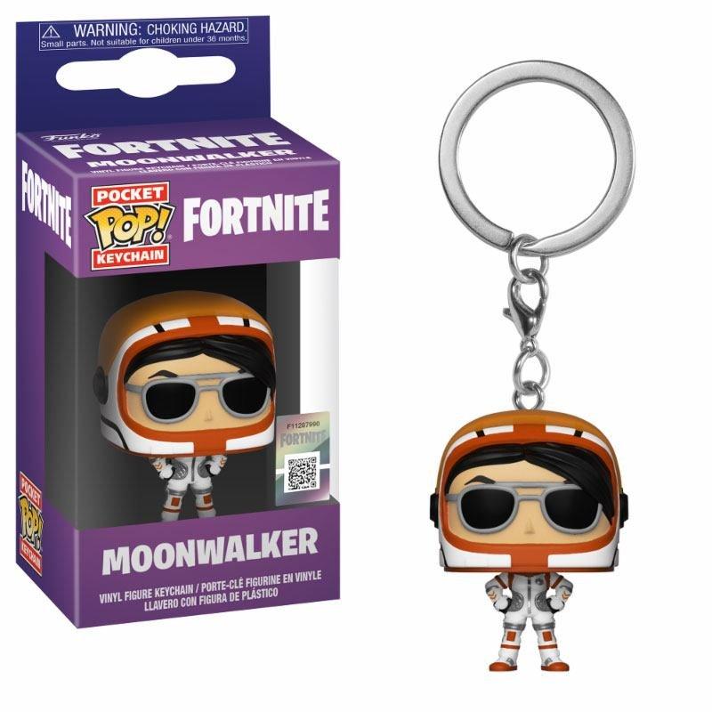 fortnite pocket pop vinyl keychain moonwalker 4 cm loading zoom - bob lennon fortnite