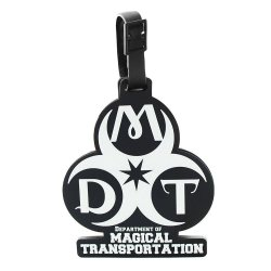 Harry Potter Rubber Luggage Tag Department of Magical Transportation New Ver.