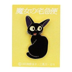 Kiki's Delivery Service Pin Badge Jiji Turn Around