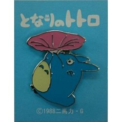 My Neighbor Totoro Pin Badge Totoro Morning Glory