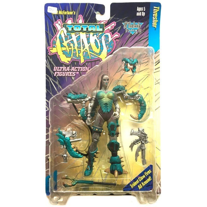 Action Figures - Total Chaos - Thresher -