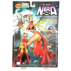 Action figures - Nira - Bill Maus' Nira Cyber Action Figure -