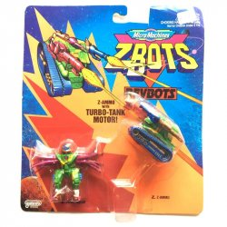 Mini Figures - Z-Bots - Z-Ammo with Turbo-Tank Motor -