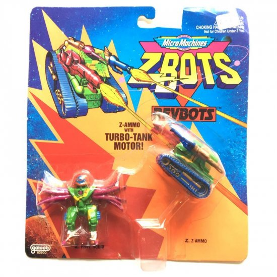 Z-Bots - Z-Ammo with Turbo-Tank Motor