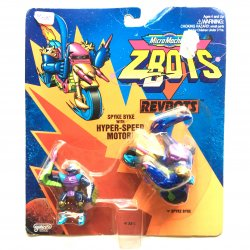 Mini Figures - Z-Bots - Spyke Byke with Hyper-Speed Motor -