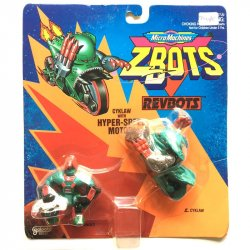Mini Figures - Z-Bots - Cyklaw with Hyper-Speed Motor -