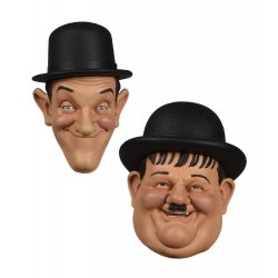 Laurel and Hardy Fridge Magnets 2-Pack 7 cm