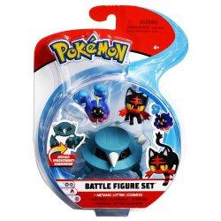 Pokémon Battle Mini Figures 3-Packs - Litten, Cosmog & Metang