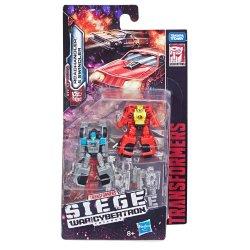 Transformers: War for Cybertron: Siege Micromasters - Autobot Race Car Patrol (Roadhandler & Swindler)