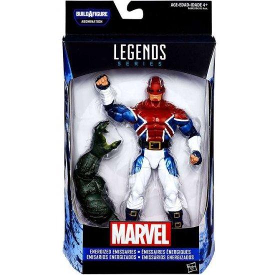 Marvel Legends: Captain America Civil War - Captain Britain (Energized Emissaries)