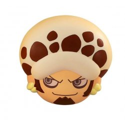 One Piece Fluffy Squeeze Bread Anti-Stress Figure Sanji's Hand Made Bread Fes Trafalgar Law 8 cm