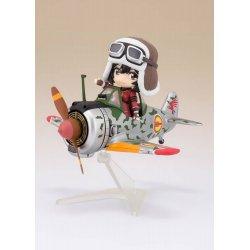 The Kotobuki Squadron in The Wilderness Figuarts mini Action Figure Kylie & Hayabusa 9-13 cm