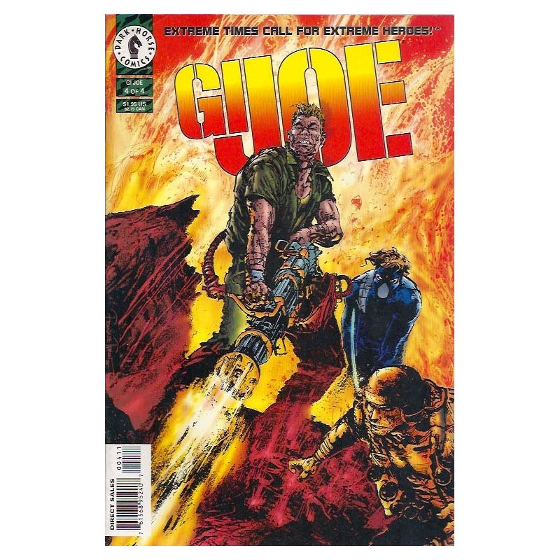 Cómics - GI Joe 4 (Dark Horse 1st Series) -