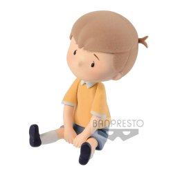 Disney Cutte! Fluffy Puffy Mini Figure Christopher Robin 5 cm