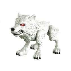 Game of Thrones Action Vinyl Figure Ghost (Wolf) GITD 8 cm