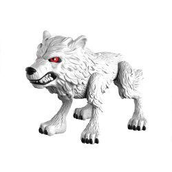 Game of Thrones Action Vinyl Figure Ghost (Wolf) 8 cm