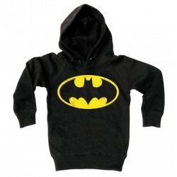 Kinder Sweater: Batman logo (Black)