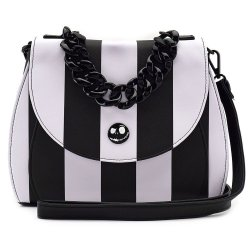 Nightmare before Christmas by Loungefly Crossbody Bag NBC Striped