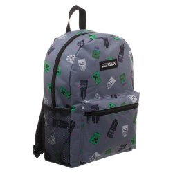Minecraft Backpack Set Deluxe Creepers