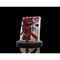 Marvel Q-Fig Diorama Deadpool 4D 10 cm