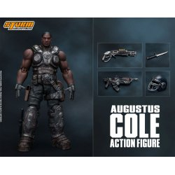 Gears of War 5 Action Figure 1/12 Augustus Cole 16 cm