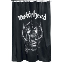 Motörhead Shower Curtain Warpig Logo