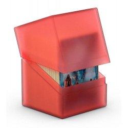 Ultimate Guard Boulder™ Deck Case 100+ Standard Size Ruby