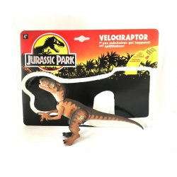 Jurassic Park - Velociraptor with Dino-Strike Slashing Jaws