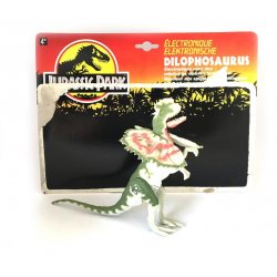 Jurassic Park - Electronic Dilophosaurus with Striking Jaw!