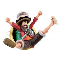 One Piece: Stampede Ichibansho PVC Statue Monkey D. Luffy 8 cm
