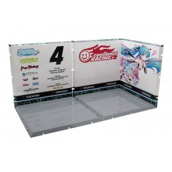 Dioramansion 150 Decorative Parts for Nendoroid and Figma Figures Racing Miku 2019 (Pit B)