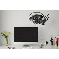 Alien Wall Decal Set