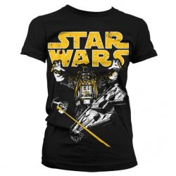 T-Shirts - Star Wars Vader Intimidation Girly T-Shirt -