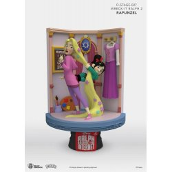 Ralph Breaks the Internet D-Stage PVC Diorama Rapunzel & Vanellope 15 cm