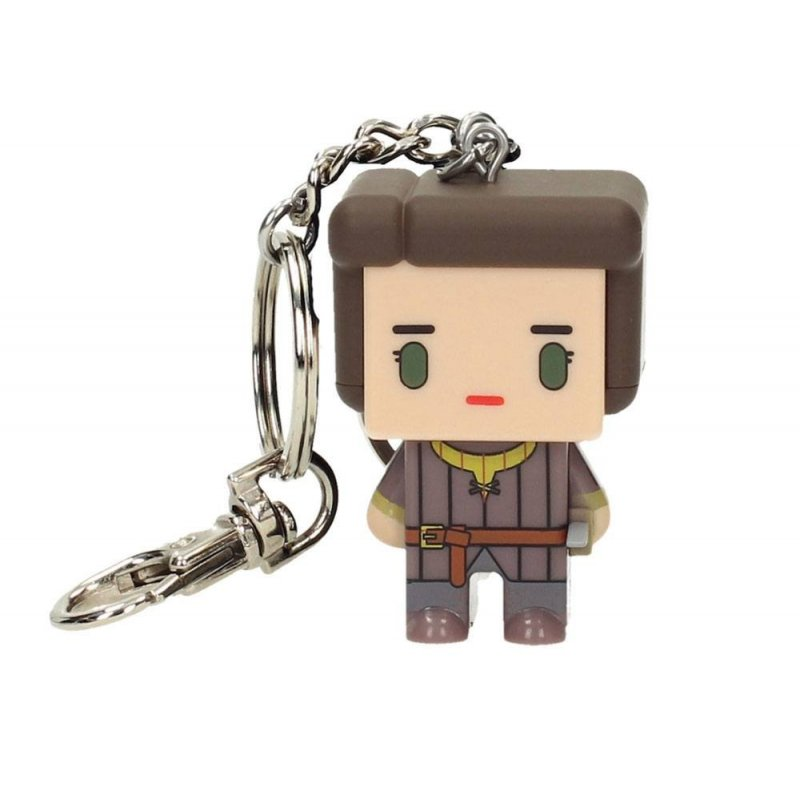 Game of Thrones Pixel Keychain Arya Stark