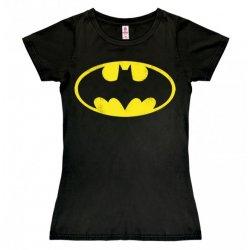 Batman - Logo Girly Tee