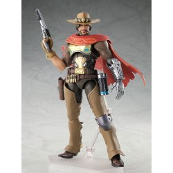Overwatch Figma Action Figure McCree 16 cm