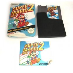 NES - Super Mario Bros. 2 (CIB)