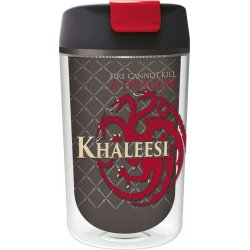 Game of Thrones Drinking Cup Tumbler To Go Khaleesi