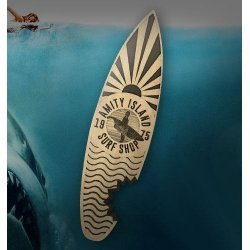 Jaws Bottle Opener Amity Island Surf Shop
