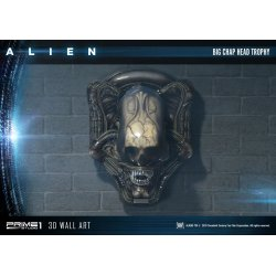 Alien 3D Wall Art Big Chap Head Trophy 58 cm