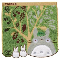 My Neighbor Totoro Mini Towel Acorn Tree 25 x 25 cm