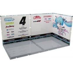 Dioramansion 150 Decorative Parts for Nendoroid and Figma Figures Racing Miku 2019 (Pit D)
