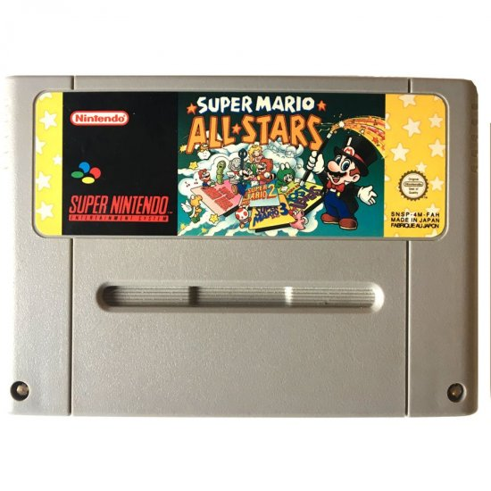 Super Nintendo – Super Mario Allstars