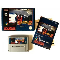 Super Nintendo – F1 Pole Position (Boxed)